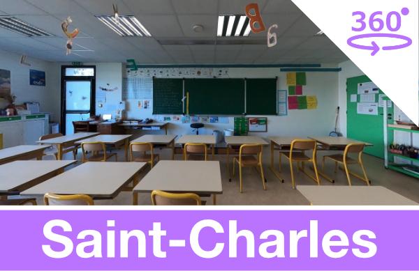 Visite virtuelle de l'école Saint-Charles