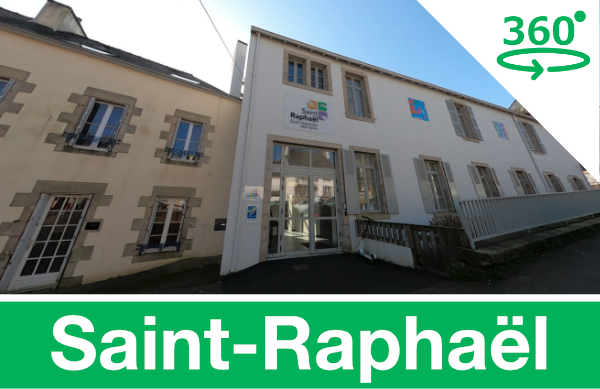 Visite virtuelle de l'école Saint-Rapahël